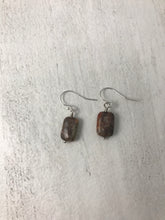 Load image into Gallery viewer, Picasso Jasper Sterling Silver Earrings