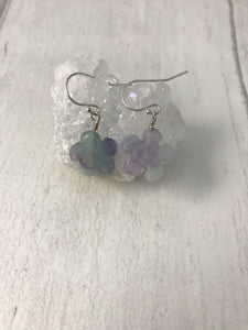 Fluorite Sterling Silver Jewellery Set