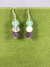 Load image into Gallery viewer, Fluorite Earrings