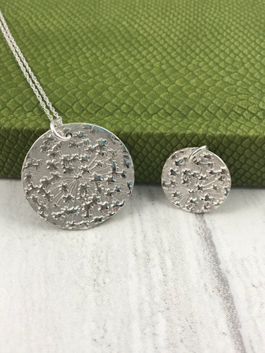 Dandelion Explosion Necklace - Small