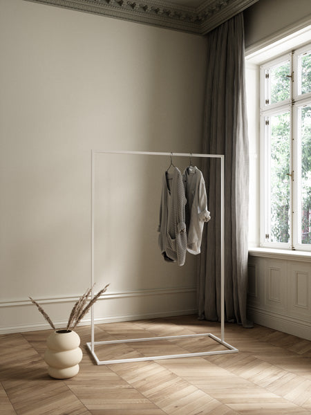 Clothes Rack white 120