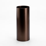 Cylinder Vase in Dark Bronze from MALLING LIVING