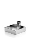 Edge Candle Holder Chrome krom lysestage fra MALLING LIVING