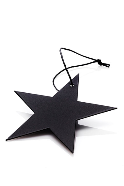 MALLING LIVING Christmas Star Ornament Black