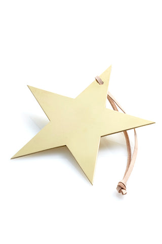 Star Ornament - Brass