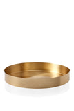 Serving Tray Brass - serveringsbakke i messing fra MALLING LIVING