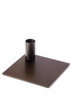MALLING LIVING Square Candle Holder Dark Bronze