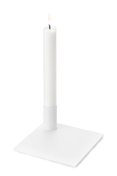 MALLING LIVING Square Candle Holder White