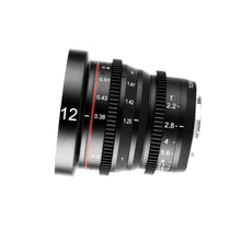 Load image into Gallery viewer, Meike Cinema Prime 12mm T2.2 for Micro4/3 MFT - Revar Cine