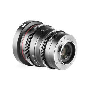 Meike Cinema Prime 16mm T2.2 for Micro4/3 MFT - Revar Cine