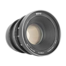 Load image into Gallery viewer, Meike Cinema Prime 65mm T2.2 for Micro4/3, Sony E, Fuji X - Revar Cine