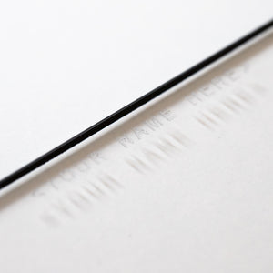 Cinema Filter Custom Engraving - Revar Cine