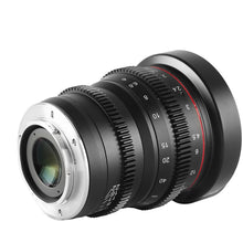 Load image into Gallery viewer, Meike Cinema Prime 85mm T2.2 for Micro4/3, Sony E, Fuji X - Revar Cine
