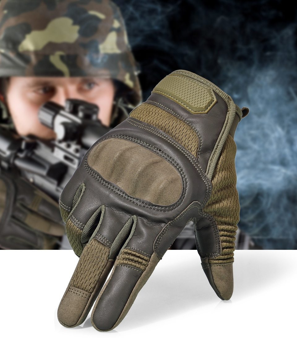 60% OFF-On Sale-Touch Screen Tactical Gloves Military Army Full Finger Gloves