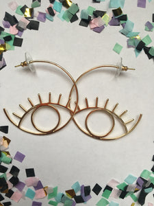Eyelid Earrings