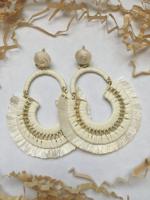 Fan Drop Earrings