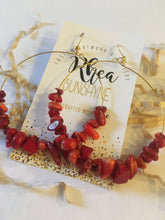 Load image into Gallery viewer, Red Monica Earrings