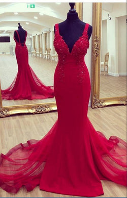 Charming Prom Dress,Sexy Mermaid Prom Dress, Tulle Evening Party Dress, Spaghetti Straps Prom Dresses,Wedding Party Gown