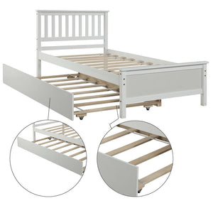 Twin Bed with Trundle - QSR-Unlimited