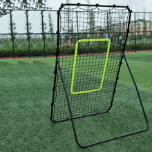 Load image into Gallery viewer, Steel Pipe Rebound Soccer Baseball Goal Pitchback Trainer Outdoor Sport Training - QSR-Unlimited
