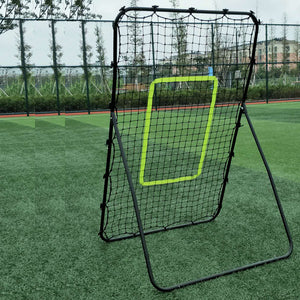 Steel Pipe Rebound Soccer Baseball Goal Pitchback Trainer Outdoor Sport Training - QSR-Unlimited