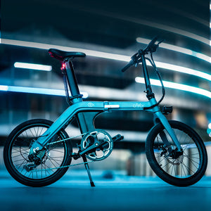 "Fiido D11 20"" Lightweight Folding Electric Bicycle 250W Motor 7 Speed Derailleur 3 Mode - QSR-Unlimited"