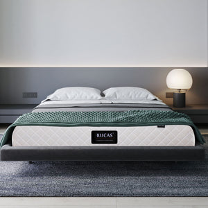 Rucas Memory Foam and Innerspring Hybrid-Mattress in a Box - QSR-Unlimited