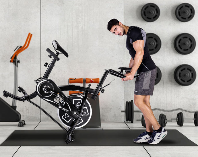 Stationary Professional Indoor Cycling Bike S280 Trainer Exercise Bicycle with 24 lbs. - QSR-Unlimited