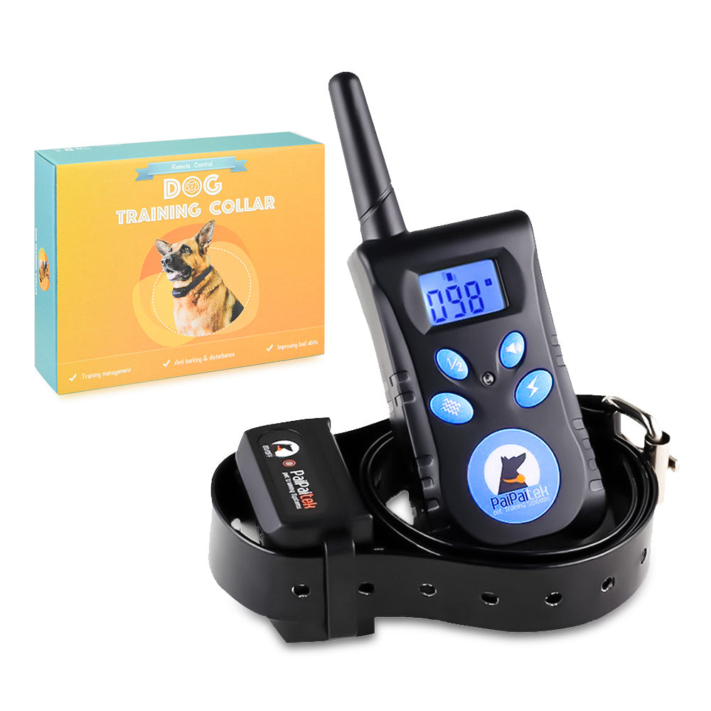 Shock collar for dogs Pet Training Collar-Waterproof IP67 500 m Range - QSR-Unlimited