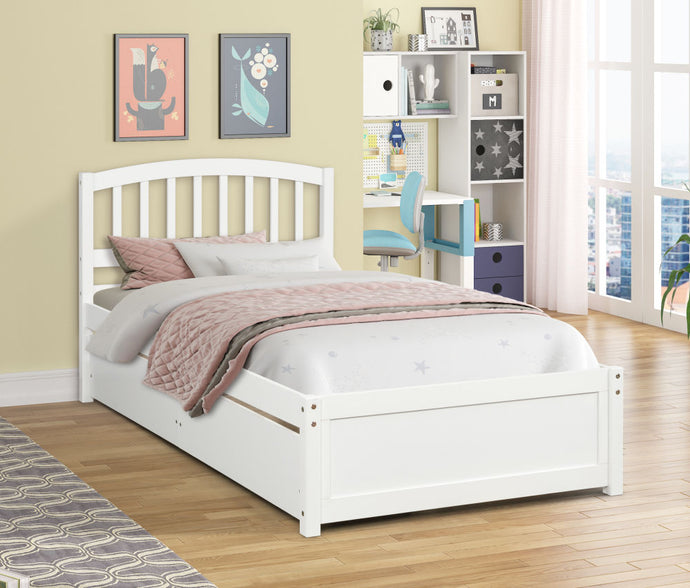 Twin Platform Bed with 2 Drawers - QSR-Unlimited