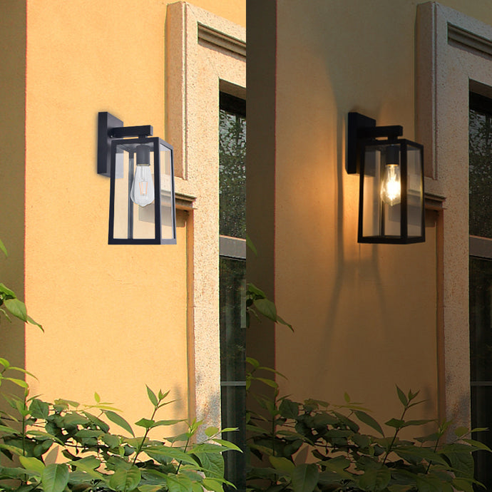 Outdoor Wall Light Lamp Lantern Sconce Exterior LED Porch Lighting Fixture - QSR-Unlimited