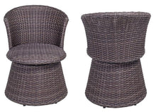 Load image into Gallery viewer, Wicker Swivel Stool Chair (2 pack) - QSR-Unlimited