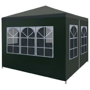 Outdoor pavilion canopy wedding party tent removable wall - QSR-Unlimited