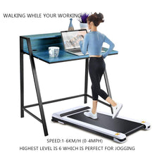 Load image into Gallery viewer, UMAY Under Desk Treadmill for Home & Office with Foldable Frames Walking Pad - QSR-Unlimited