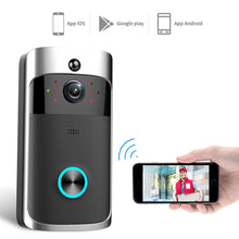 Load image into Gallery viewer, Wireless Smart WiFi DoorBell IR Video Visual Camera Intercom Home Security Kit - QSR-Unlimited