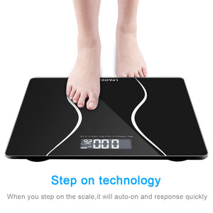 Digital Electronic LCD Personal Glass Scale - QSR-Unlimited
