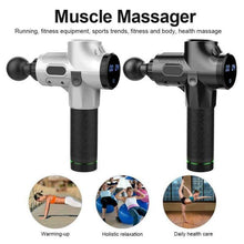 Load image into Gallery viewer, Massage Gun 30 Speed LCD  Deep Tissue Percussion Massager - QSR-Unlimited