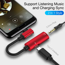 Load image into Gallery viewer, USB C Type-C to 3.5mm Jack AUX Earphone Audio Charger Converter - QSR-Unlimited