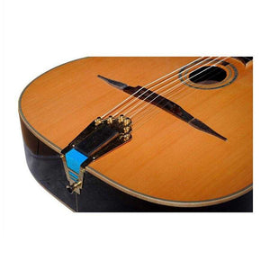 ADM Solid Gypsy Jazz Guitar Oval Hole with Foam Case - QSR-Unlimited