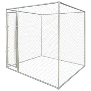 Outdoor big kennel, pet dog running house shade cage backyard fence - QSR-Unlimited