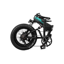 "Load image into Gallery viewer, Fiido M1 20"" Fat Tires Folding Electric Mountain Bike 250W Motor 7 Speed Derailleur 3 Mode - QSR-Unlimited"
