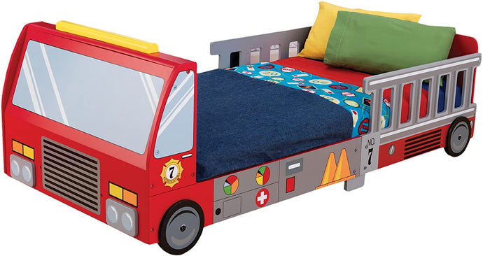 Firetruck Toddler Bed - QSR-Unlimited