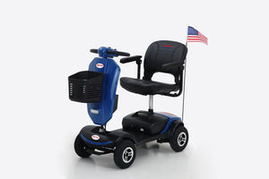 Outdoor compact mobility scooter with windshield M1S mobility scooters - QSR-Unlimited