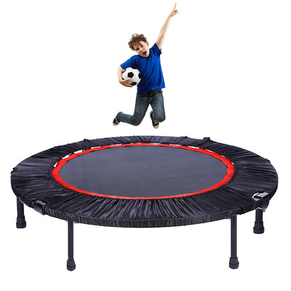 Aerobic Bouncer Trampoline Adult Kid Fitness Exercise Indoor - QSR-Unlimited