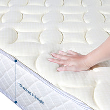 Load image into Gallery viewer, Rucas Memory Foam and Innerspring Hybrid-Mattress in a Box - QSR-Unlimited