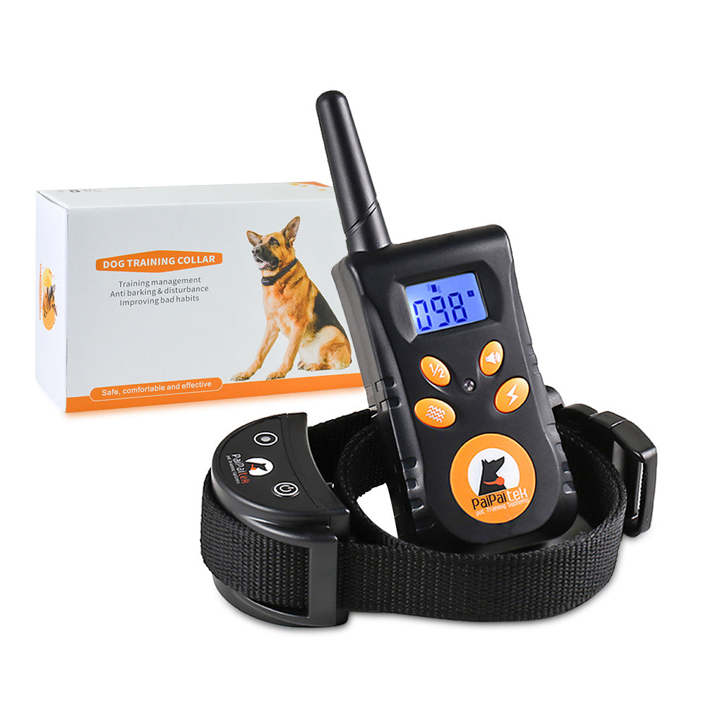 Shock collar dogs Pet Training Collar-Waterproof IP67 500M Long-range - QSR-Unlimited