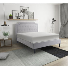Load image into Gallery viewer, Platform Queen Bed Frame with Slats and Headboard - QSR-Unlimited