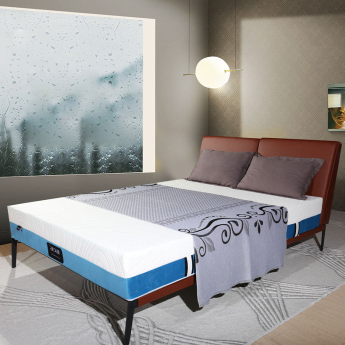 Rucas Premium Gel Multi Layered Memory Foam Bed Mattress in a Box - QSR-Unlimited