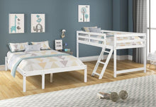 Load image into Gallery viewer, TWIN/FULL BUNK BED - QSR-Unlimited