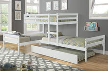 Load image into Gallery viewer, L-Shaped Bunk Bed with Trundle - QSR-Unlimited
